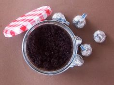 Chocolate Body Scrub #treat