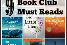 9 Book Club Must Reads