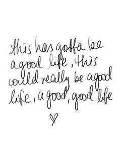 Good Life - OneRepublic