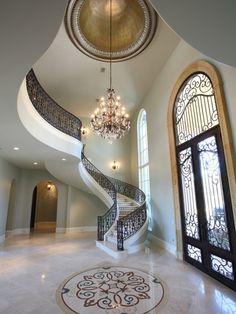 luxury foyer ideas #KBHomes