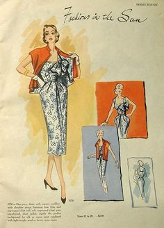 modes royale spr sum 1952 dress jacket1056 by carbonated, via Flickr