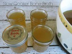 How to Make Slow Cooker Bone Broth