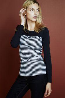 Colourblock Stripe Long Sleeve (866069X56) | £8.50