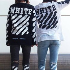 """2,014 Me gusta, 30 comentarios - @worldofstreetstyle en Instagram: """"Off-white ⚫⚪ By @_ruucakana_ and @yoohwanyang"""" Winter Outfits, Cool Outfits, Fresh Outfits, Winter Clothes, Casual Outfits, The Fall Guy, Streetwear Fashion, Streetwear Clothing, Gentleman Style"""
