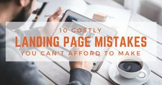 The landing page is a key element in your entire marketing effort. Here are 10 commonly made landing page mistakes that can kill all your marketing success. Website Layout, Web Layout, Design Layouts, Flat Web Design, Ui Design, Mobile Ui Patterns, Responsive Web Design, User Interface Design, Mobile Design