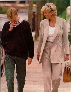 The last time William & Diana saw each other.  Such a lovely photo, and such a tragedy Diana died so young.