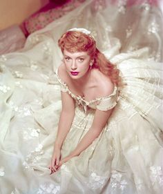 The King and I (1956) Deborah Kerr as Anna Leonowens. Costume Design: Irene Sharaff - what a picture!