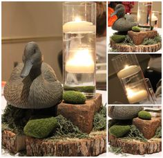 Last Trending Get all images duck dynasty home decor Viral duck center piece Hunting Birthday, Hunting Party, Duck Hunting, Grooms Cake Tables, Duck Dynasty Party, Bride Groom Table, Hunting Themes, Camo Party, Wedding Table Centres