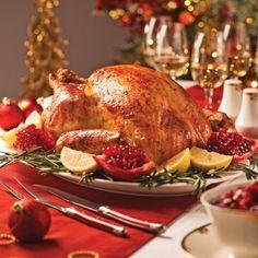 Dinde traditionnelle farcie - Recettes - Cuisine et nutrition - Pratico Pratiques - Noël