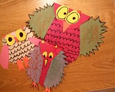 texture, shapes, and the characteristics of owls - can't remember if I've pinned this one yet. I love a good owl lesson!