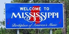 welcome to mississippi state sign - Google Search