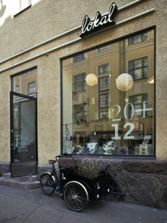 Lokal, art space/coffee shop -  72% Art 28% Coffee