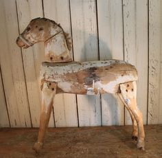 Wooden Horse image 3 Antique Rocking Horse, Rocking Horses, Vintage Horse, Wooden Horse, Horse Gifts, Hobby Horse, Horse Sculpture, Carousel Horses, Picture On Wood