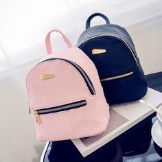 Fashion Faux Leather Mini Backpack Girlsl Handbag School Rucksack Bag Rapture #FashionBackpacks