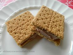 Skinny Sweets Daily: Skinny Nutella Frozen Sandwich Treats. Only 3 WW points. Yay! Enjoy every bite. Click the pic for the easy recipe!