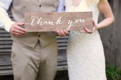Hey, I found this really awesome Etsy listing at https://www.etsy.com/listing/242044332/thank-you-sign-wooden-wedding-signs-wood