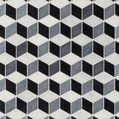 Art Deco Cubist by Claybrook Interiors Ltd.   Tiles