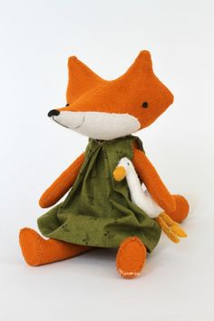 Image of RESERVED FOR JENNY: bigger fox Vera