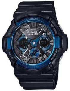 1f97c39c686 Casio Mens G-Shock - Black Case   Strap - Magnetic Resistant - 200m
