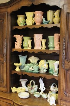 another great McCoy pottery display