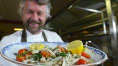 Sieberen Meerema - Scheermessen met tomaten, knoflook en peterselie