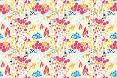 Annas Garden fabric by mainsail_studio on Spoonflower - custom fabric