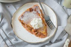 A traditional pie with a tropical twist.