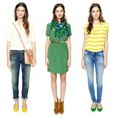 Madewell's Spring 2012 Look Book - Part 2, the middle look is my personal fave