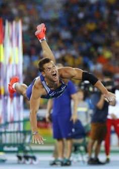 Estonia's Magnus Kirt competes in the Men's Javelin Throw Qualifying Round…