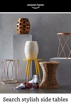 Search for stylish side tables in one location that work best for your home!