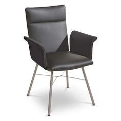 Konferenzstuhl  BONNY #Stuhl #Esszimmerstuhl #Konferenzstuhl mit #Armlehnen auf ...