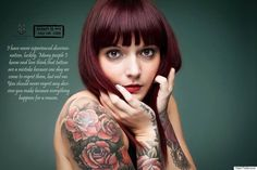 Stunning Portrait Series Of People With Tattoos Proves Beauty Is Not Only Ink Deep