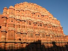 Hawa Mahal - India called the palace of the winds