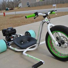 Trike Daddy Customs R2 Powered Drift Trike