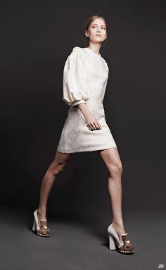 Estupendos vestidos de moda colección Alexander McQueen