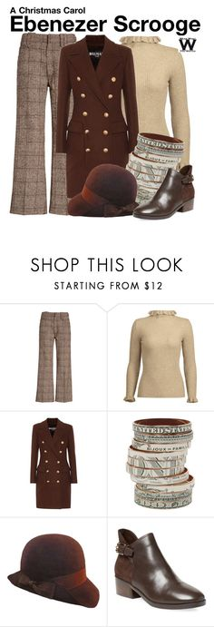 """""""A Christmas Carol"""" by wearwhatyouwatch ❤ liked on Polyvore featuring Marc Jacobs, Balmain, Bijoux de Famille and Cole Haan"""
