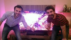 Srbalter and Roko are watching #Eurovision2015