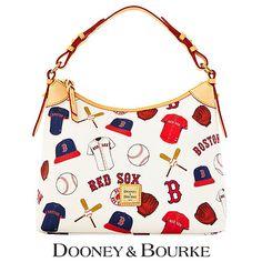 Dooney & Bourke MLB Print Boston Red Sox MLB Hobo Purse, $198 via Shop.MLB.Com