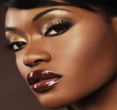 How To Apply Bridal Makeup For Black Skin : 1000+ images about Wedding Make Up Ideas on Pinterest ...