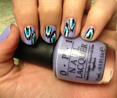 Miscellaneous Manicures: Experimenting with Ikat