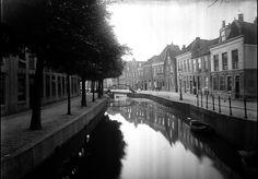 Het Levendaal gezien van de Barbarabrug naar het oosten met de Sint Jorisbrug (begin 20ᵉ eeuw).