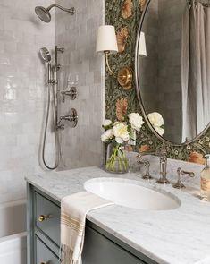 Bathroom Renos, Bathroom Ideas, Bathroom Organization, Boho Bathroom, Parisian Bathroom, Timeless Bathroom, Industrial Bathroom, Bathroom Lighting, Feminine Bathroom