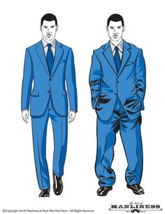 How Should a Suit Fit? Your Easy-to-Follow Visual Guide | The Art ...