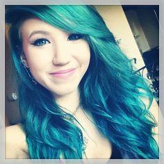 Kalel Cullen- I'm so torn because I love her hair too! very mermaid