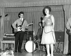 """Hey, Hey, set me free. Stupid Cupid stop pickin' on me...""  On Stage in Las Vegas, 1962."