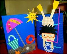Summer activities for kids, summer kids, summer camp art, camping craft Summer Camp Art, Summer Crafts For Kids, Summer Activities For Kids, Crafts For Kids To Make, Summer Kids, Easy Crafts, Art For Kids, Kids Crafts, Kids Fun