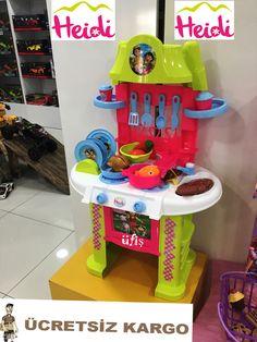 Heidi Oyuncak Mutfak Seti Büyük boy Kız Çocuk Oyuncak Seti