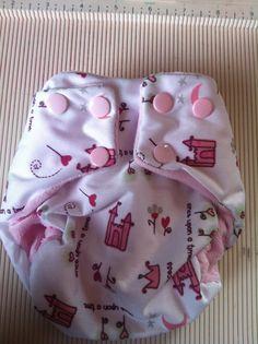 Newborn Baby Girl Cloth Diaper by suziecac3 on Etsy, $10.00