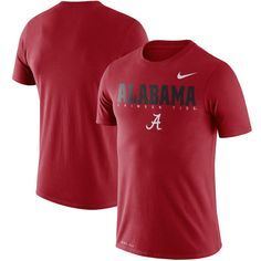 quality design 59692 df131 Alabama Crimson Tide Nike 2018 Facility Dri-FIT Cotton T-Shirt – Crimson