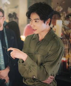 "ASK K-POP ""Her Private Life"" has revealed stills of Kim Jae Wook from his first day on set for the new romantic comedy Korean Star, Korean Men, Asian Men, Asian Actors, Korean Actors, K Drama, Park Hyung, K Wallpaper, Park Min Young"